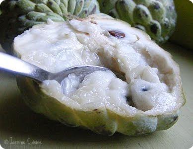 Un dessert naturel, c'est possible avec le cherimoya! - Jasmine Cuisine