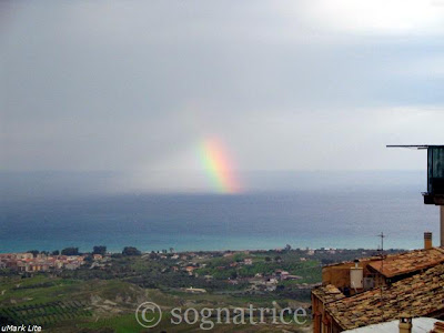 rainbow, calabria, southern italy