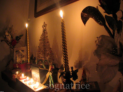 Christmas Fireplace Mantle 2007