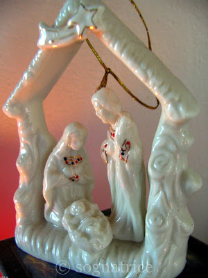 Lenox Nativity ornament
