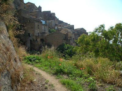 medieval village, calabria, southern italy