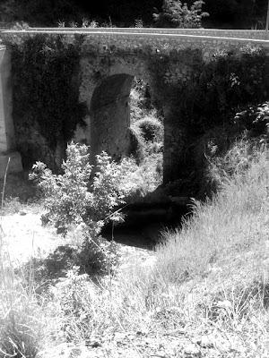 medieval bridge, calabria, southern italy