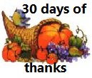 30 day of thanks