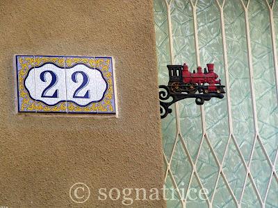 Train on House No. 22, Calabria, Italy