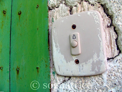Doorbell, Calabria, Italy