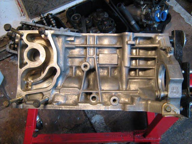 lumber jack remise en etat du moteur