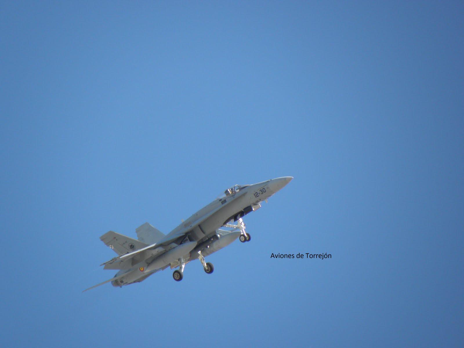 Aviones De Torrejón F 18 Y Tornado