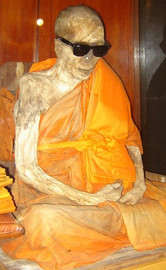 Mummy monk (mummified monk) Ko Samui