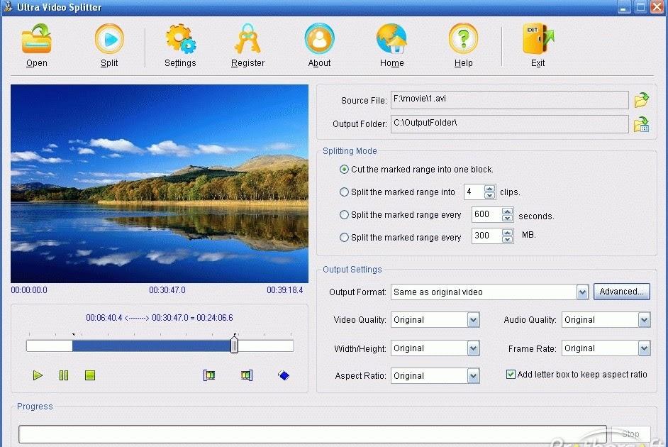 VCD DVD SPLITTER 5.01 ULTRA TÉLÉCHARGER CUTTER FULL VIDEO