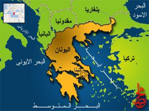 خريطة مترو أثينا بالعربي