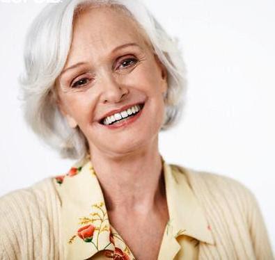 Anti aging Woman smiling