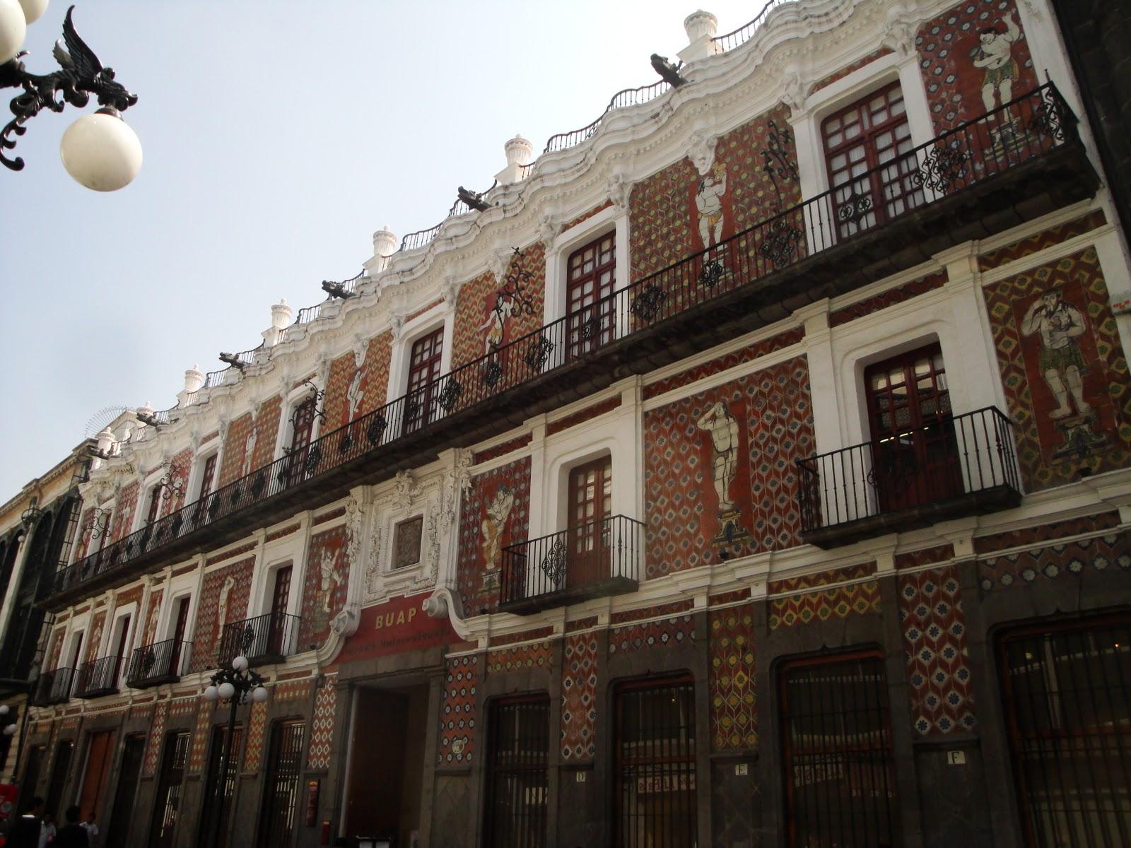 Casa de los muñecos en pleno Centro Histórico de Puebla