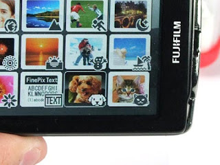 FinePix Z700EXR stylish add features to identify dogs and cats