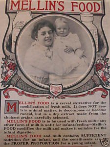 Mellins Baby Food Humphrey Bogart