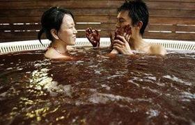Spa Chocolate Valentine's Bath