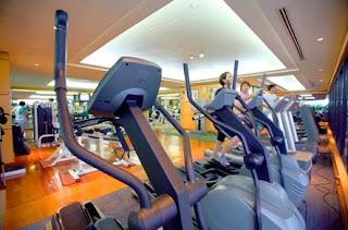Fitness of Radisson Hotel Bangkok