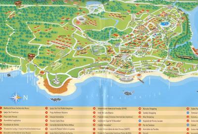 joao pessoa mapa rodicas VIAJANTES: Mapa Turístico: João Pessoa joao pessoa mapa