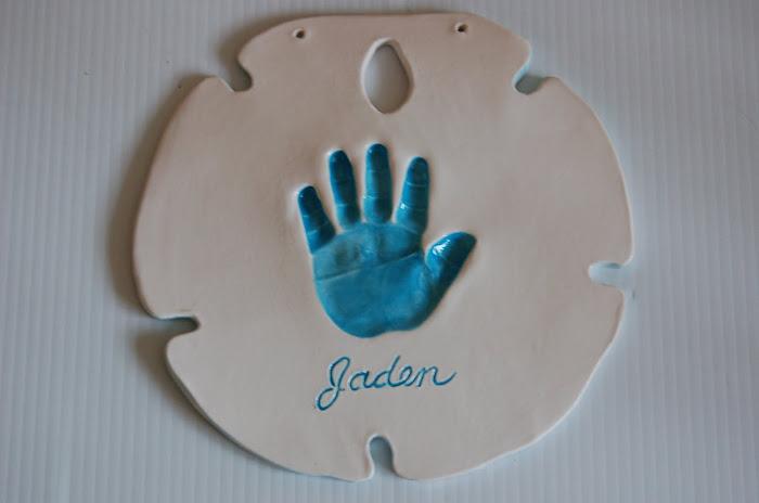 Thebabyhandprintcompany Sibling Keepsake Clay Ceramic Art