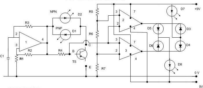 electronics: Transistor Tester