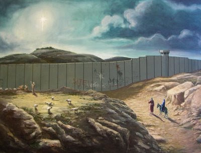 Image of Bethlehem with The Wall from Palestinian Pundit