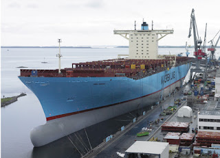 position ebba maersk
