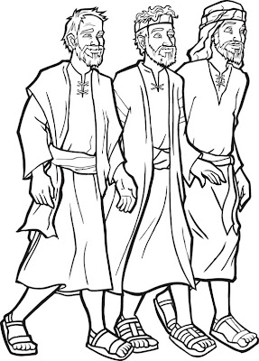 Paul And Timothy Coloring Pages - Coloring Home | 400x287