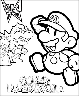 jimbo 39 s coloring pages more mario. Black Bedroom Furniture Sets. Home Design Ideas