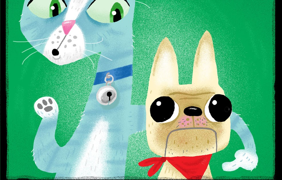 La Luna Naranja El Perro Y El Gato