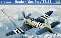 Hawker Sea Fury FB.11 - Trumpeter 1/72
