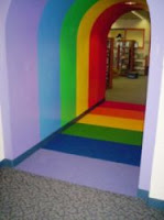 Rainbow Tunnel to Children's Room