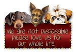 We are Not Disposable Love us for our whole life