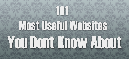 100+ Most Useful Amazing Websites on the Internet 2020