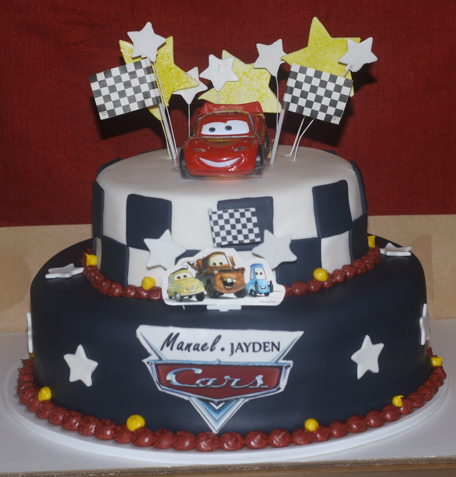 Hector S Custom Cakes Disney S Cars Themed Cake