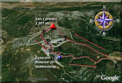 Ampliar mapa de la zona