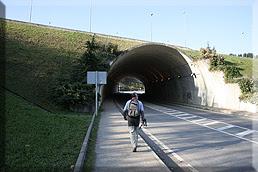 Túnel bajo la variante
