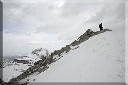 Cima del pico Llana del Bozo 2.566 m.