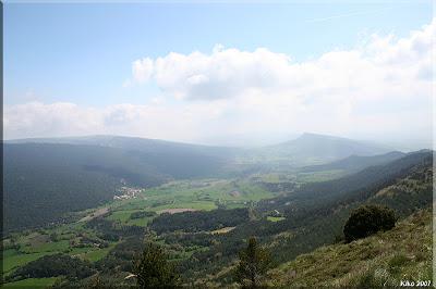 Panorámica desde la cima de Cantoblanco
