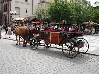 Paseos en carro por el Praga Viejo