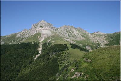 Lakeleta y Lakartxela durante el ascenso