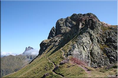 Midi y Pico Anayet desde el collado