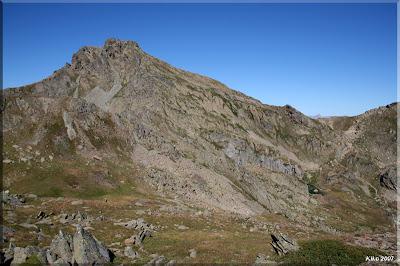 Cara Este del Pic Peyreget