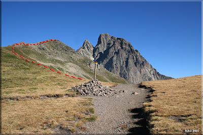 Col de Pombie 2.110 m.