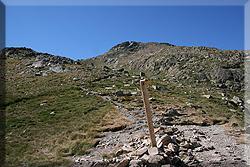 La cima desde el Col de Peyreget