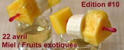 Ilet d'Amours sur mer de pépites exotiques et Sorbet Mojito - À Vos Casseroles #10 dans desserts A+vos+casseroles