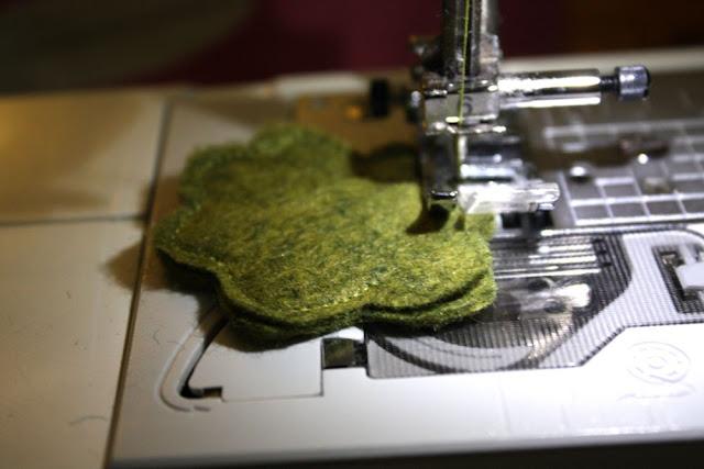 IMG 8061 - Tutorial brócolis em feltro