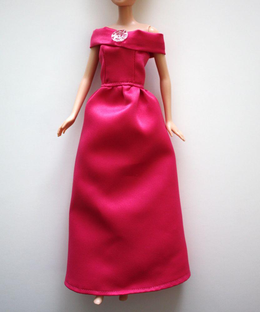 Barbie 174 Ball Gown Tutorial