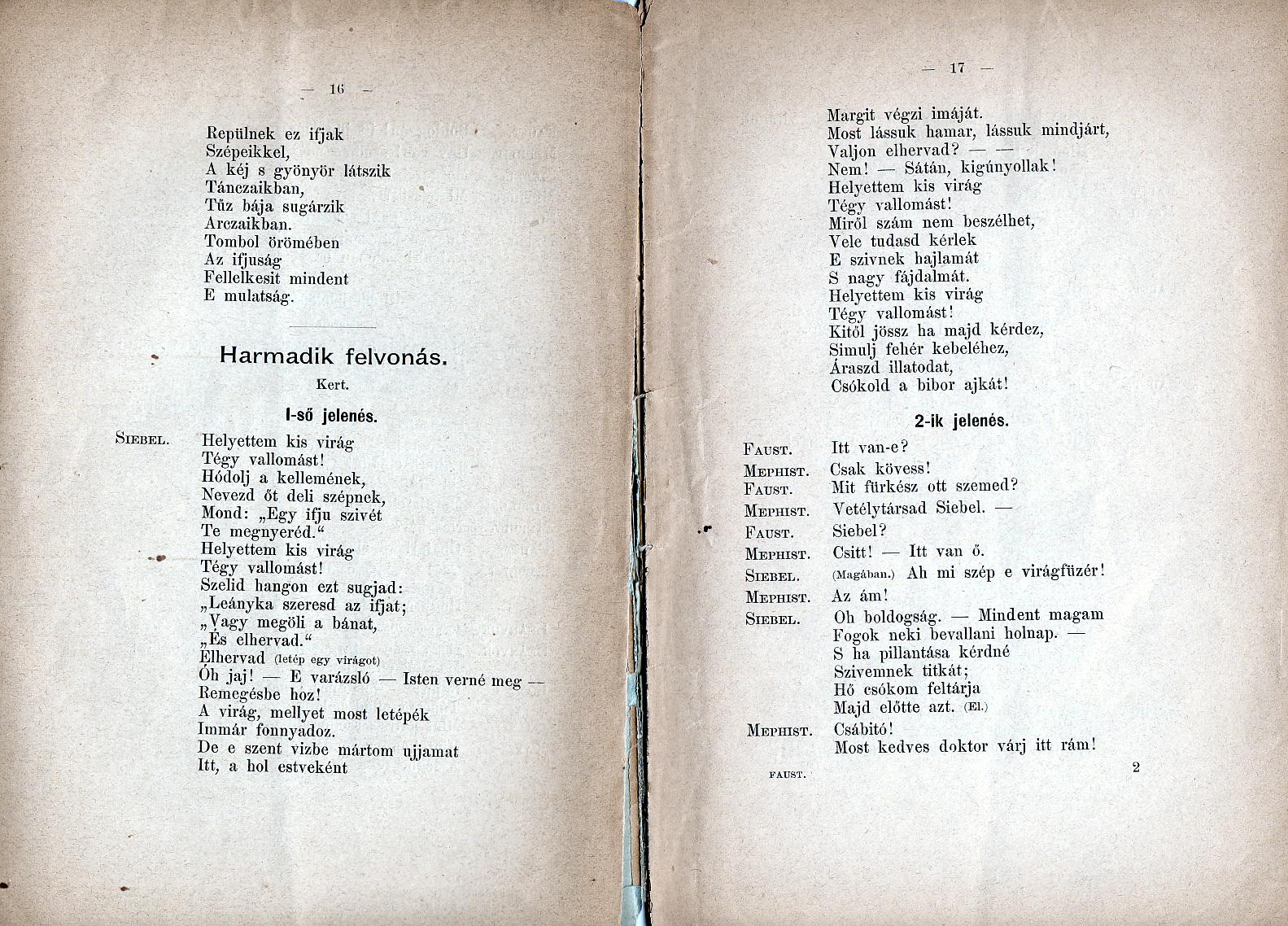 n s az operk Gounod FAUST