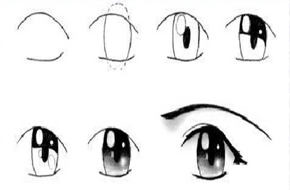 Imagenes De Ojos Anime Para Dibujar Faciles Imagesacolorierwebsite
