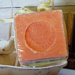 mydło marsylskie pomarańczowo-cynamonowe