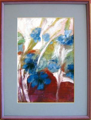 kwiaty - blue flowers